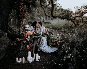 Stefany & Ruby Botany Bay South Carolina Elopement