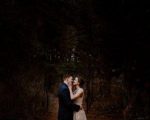 Rebekah & Drew PA Woodsy Elopement