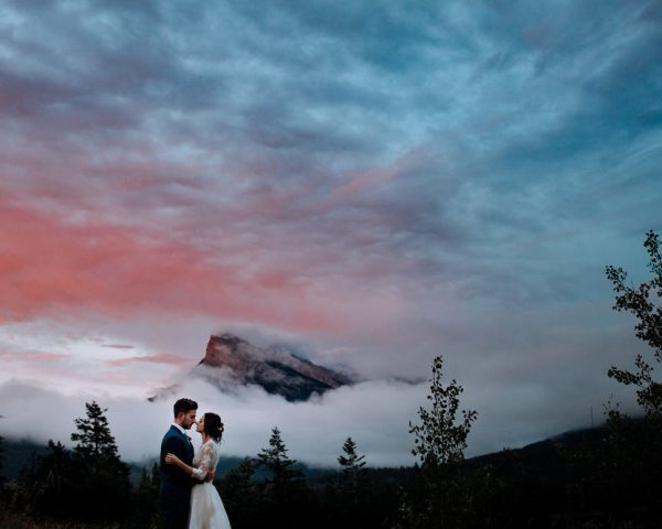Christina & Mike Banff Elopement