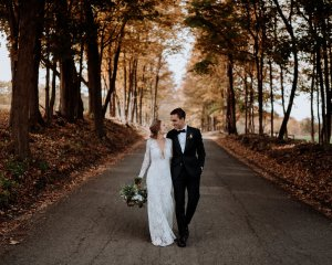 Laura & Greg Red Maple Vineyard Wedding