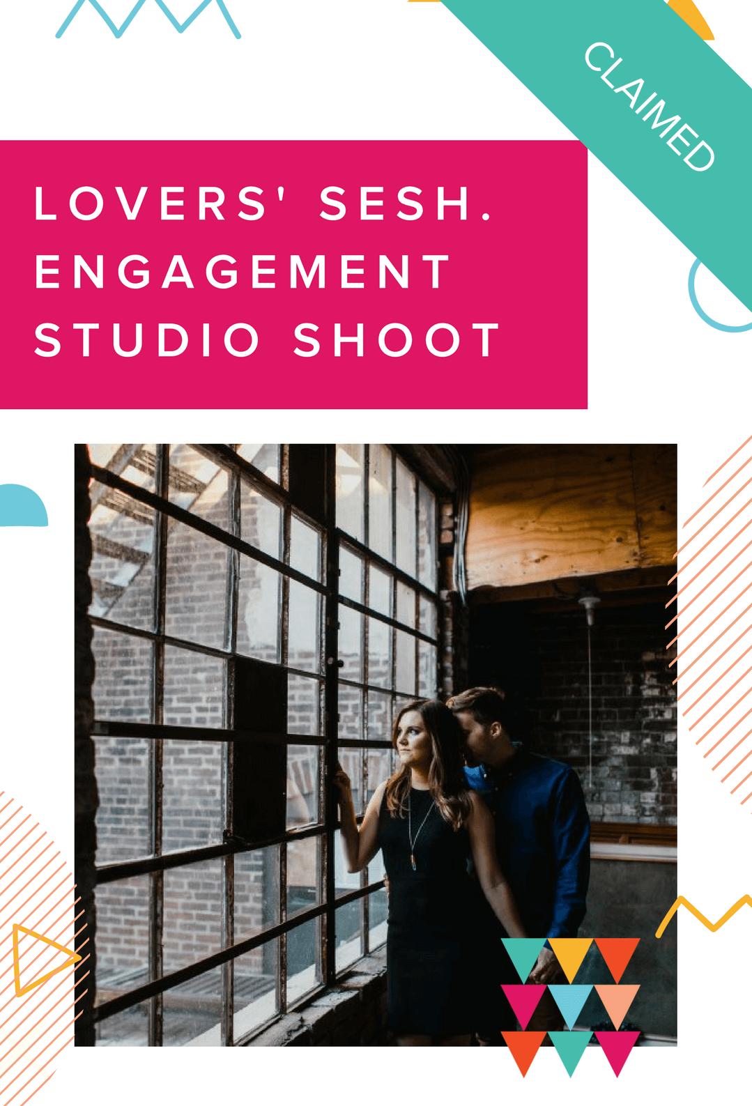 Prize - Love Me Do Lovers' sesh engagement studio shoot - claimed