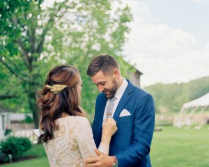 Rustic Chic Farm Wedding in Cazenovia, NY