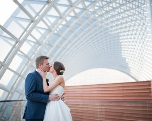 Sarah+Jonathan: Kimmel Center Wedding