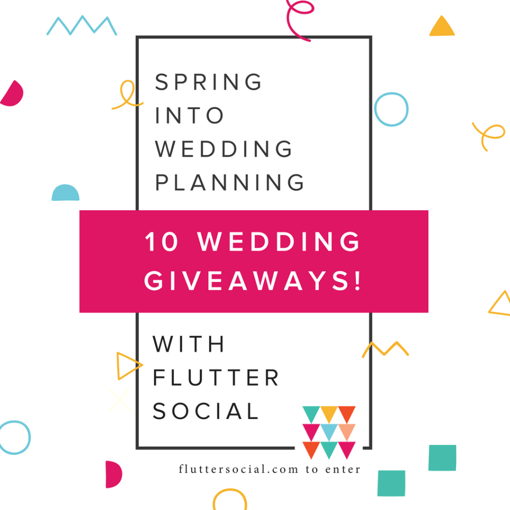 Spring Into Wedding Planning Philadelphia Wedding Giveaways