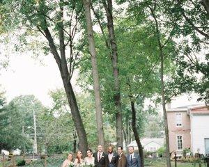 Rustic Early Autumn Backyard South Jersey Wedding