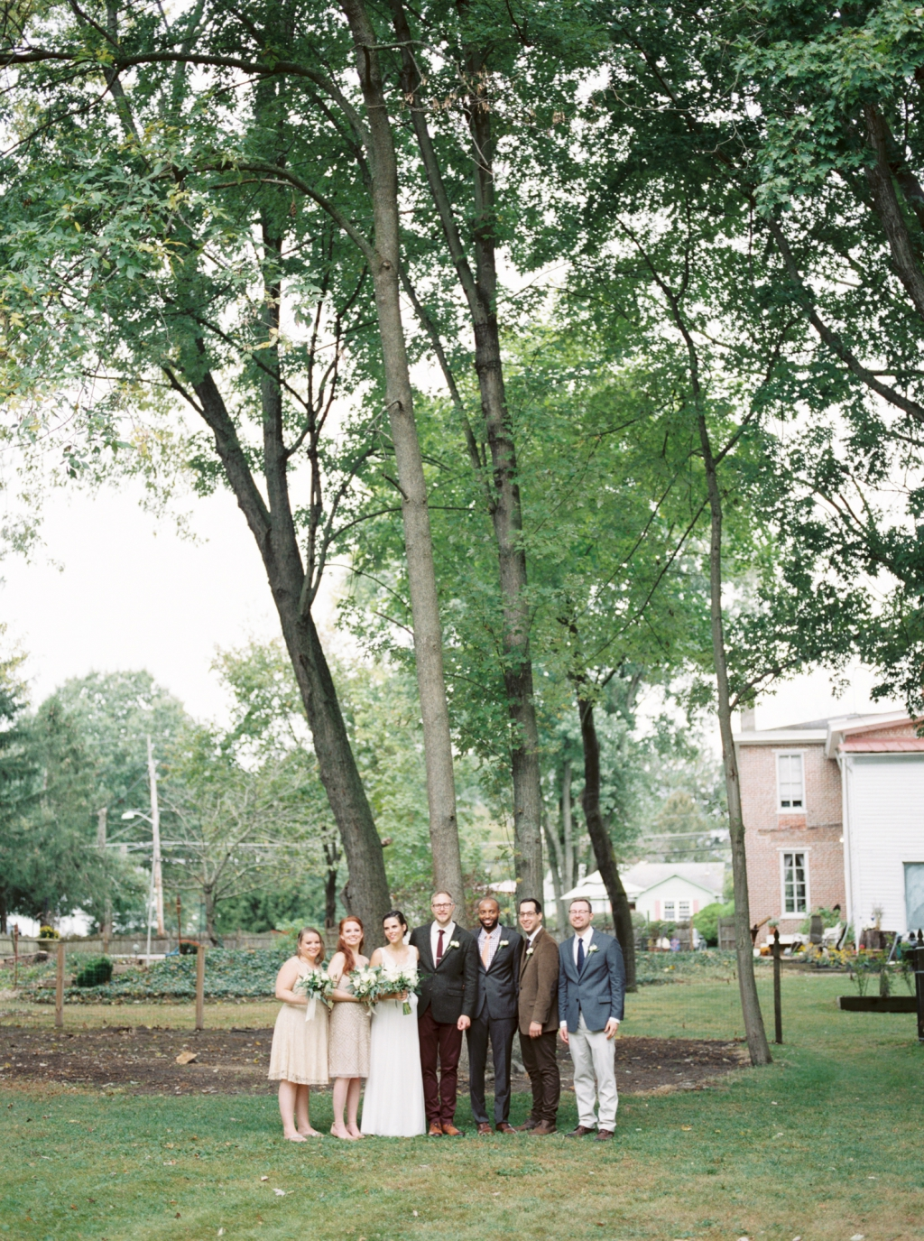 Rustic Early Autumn Backyard South Jersey Wedding