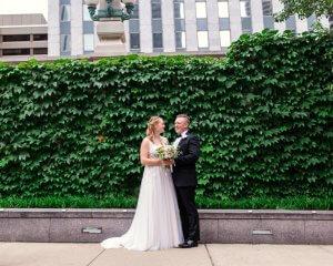 Mary & William's New York style wedding at Thalia Hall