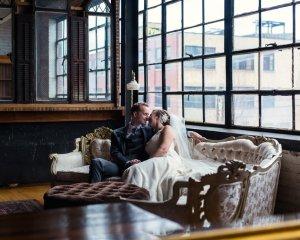 Emily & John's Vintage Chicago Wedding at Salvage One