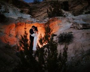 Adventurous New Mexico Desert Oasis Elopement