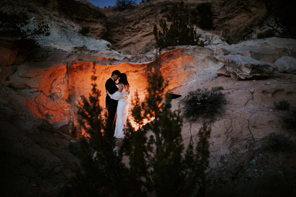 Adventurous New Mexico Desert Oasis Elopement