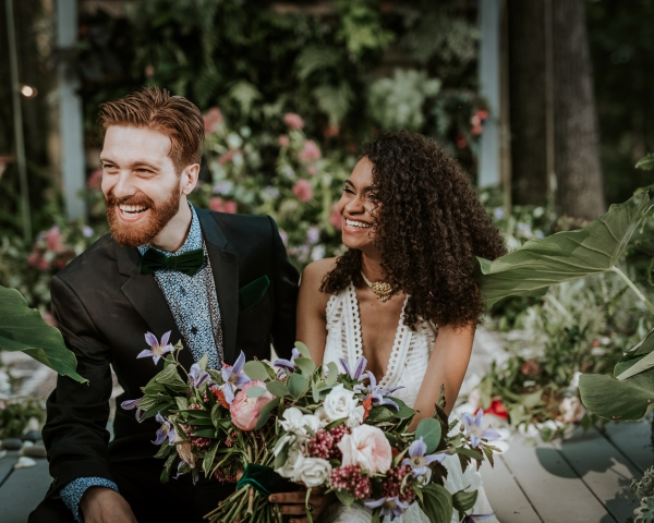 Wedding in the Poconos at Promise Ridge