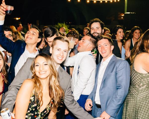 Meghan + Quinton's Colorful Private Estate Wedding