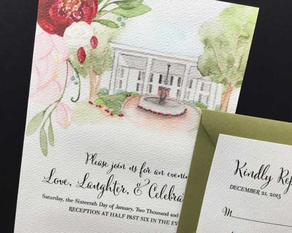 Wedding Venue Invitations