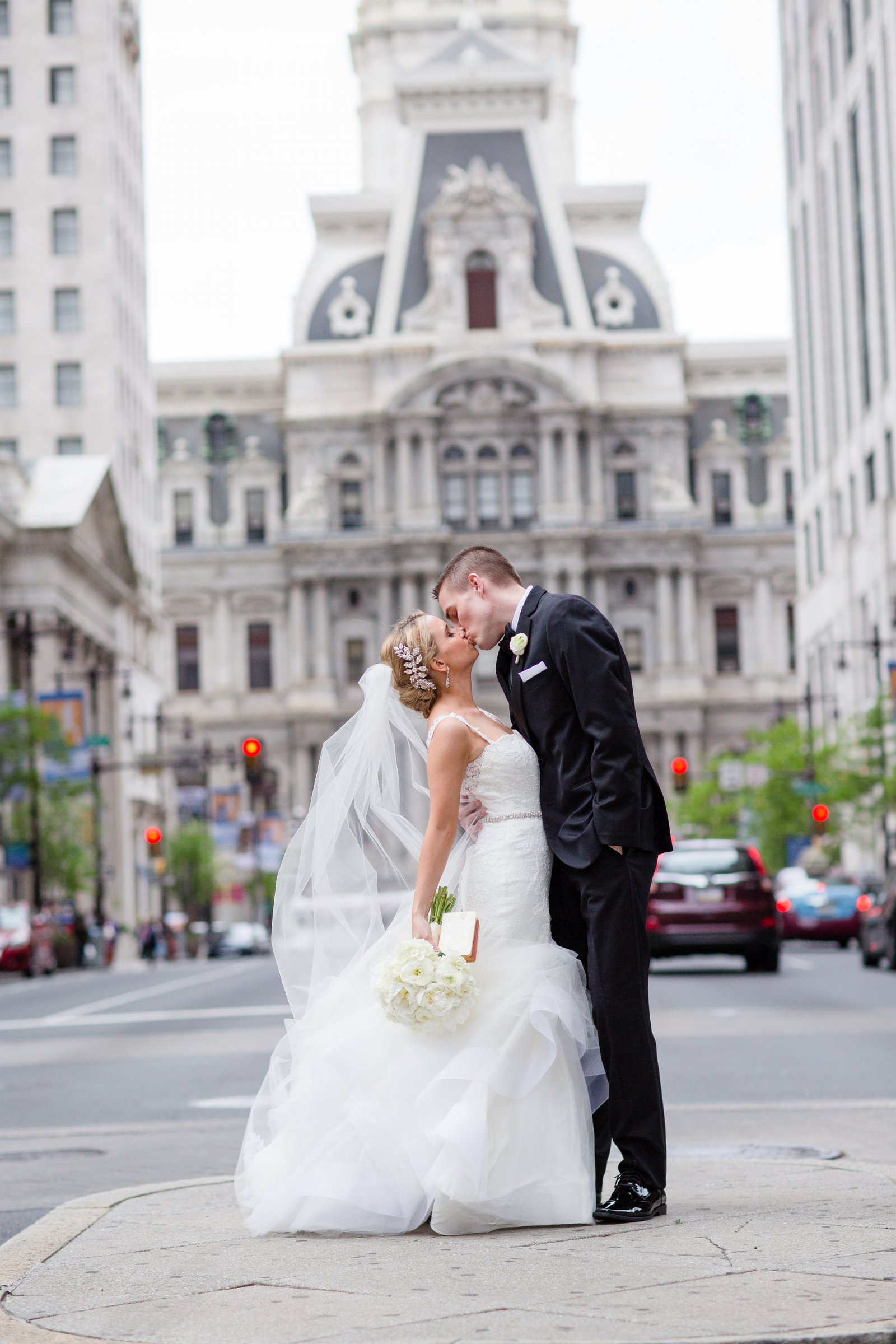 Downtown Philadelphia Wedding at Crystal Tea Room