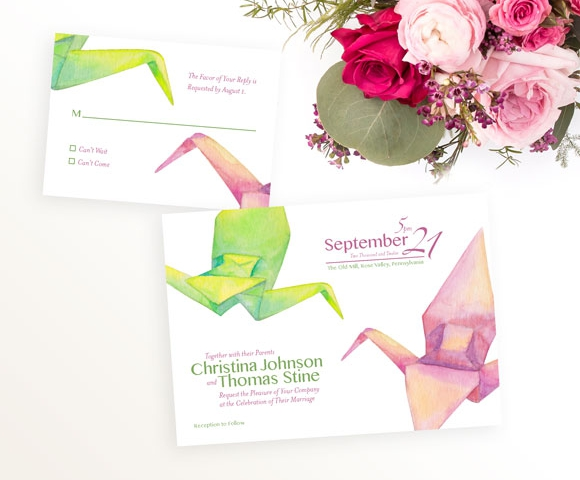 Artistic Wedding Invitations