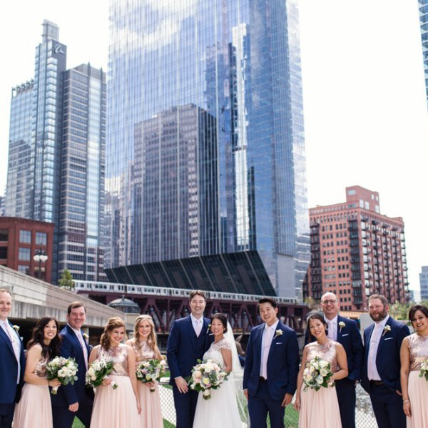 Chicago-bridal-party