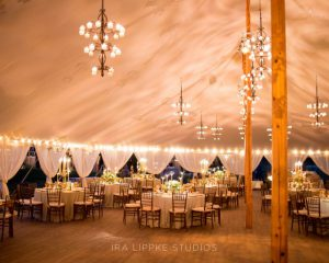 Bohemian Chic Tented Wedding