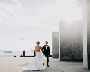 Sharleen + Andy's Battery Gardens Wedding, NYC