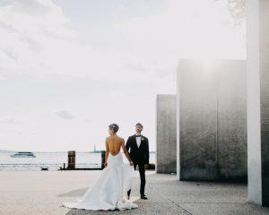 Sharleen + Andy's Battery Gardens Wedding, NYC