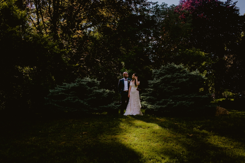Cozy Wedding at Ridgeland Mansion