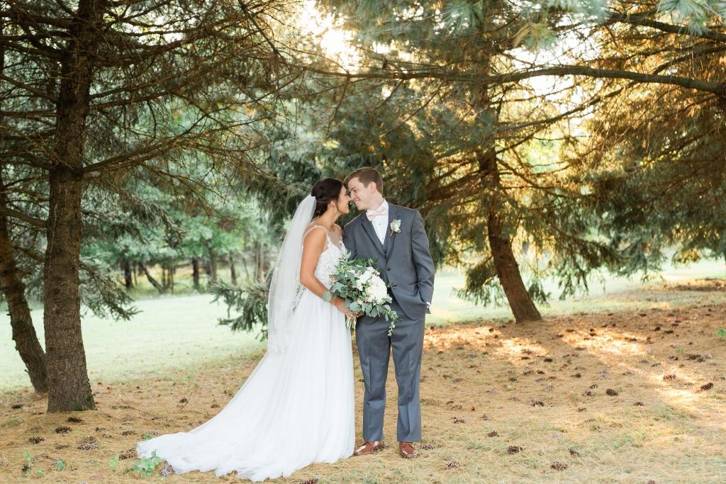 Fall Wedding at Ash Mill Farm