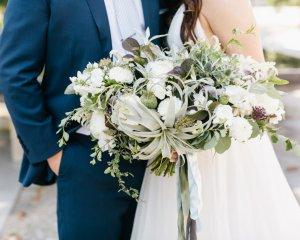 A Lush Garden Wedding at The Fairmount Park Horticulture Center