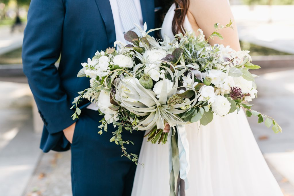 A Lush Garden Wedding at The Fairmount Park Horticulture Center