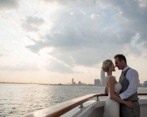 NYC Springtime Destination Wedding on the River