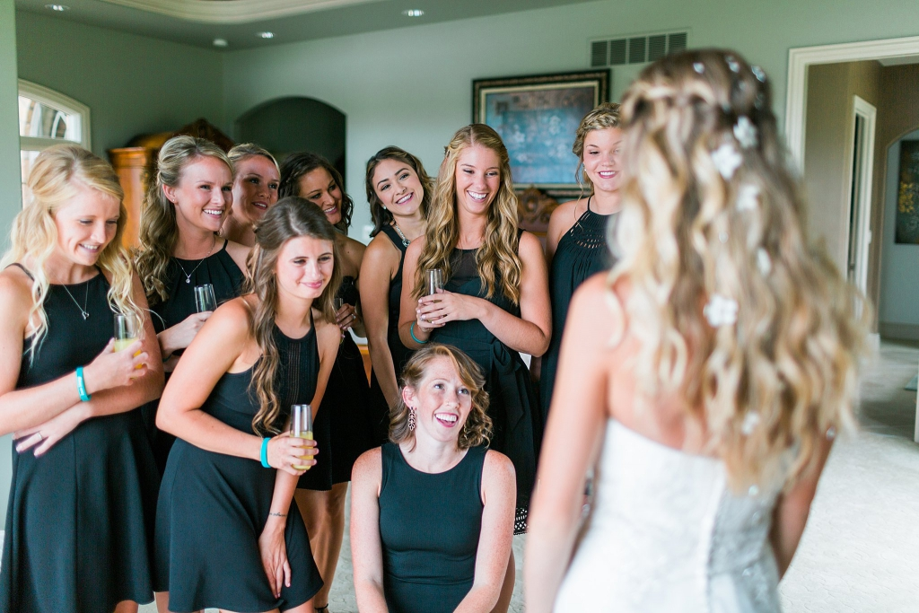 short black bridesmaid dresses