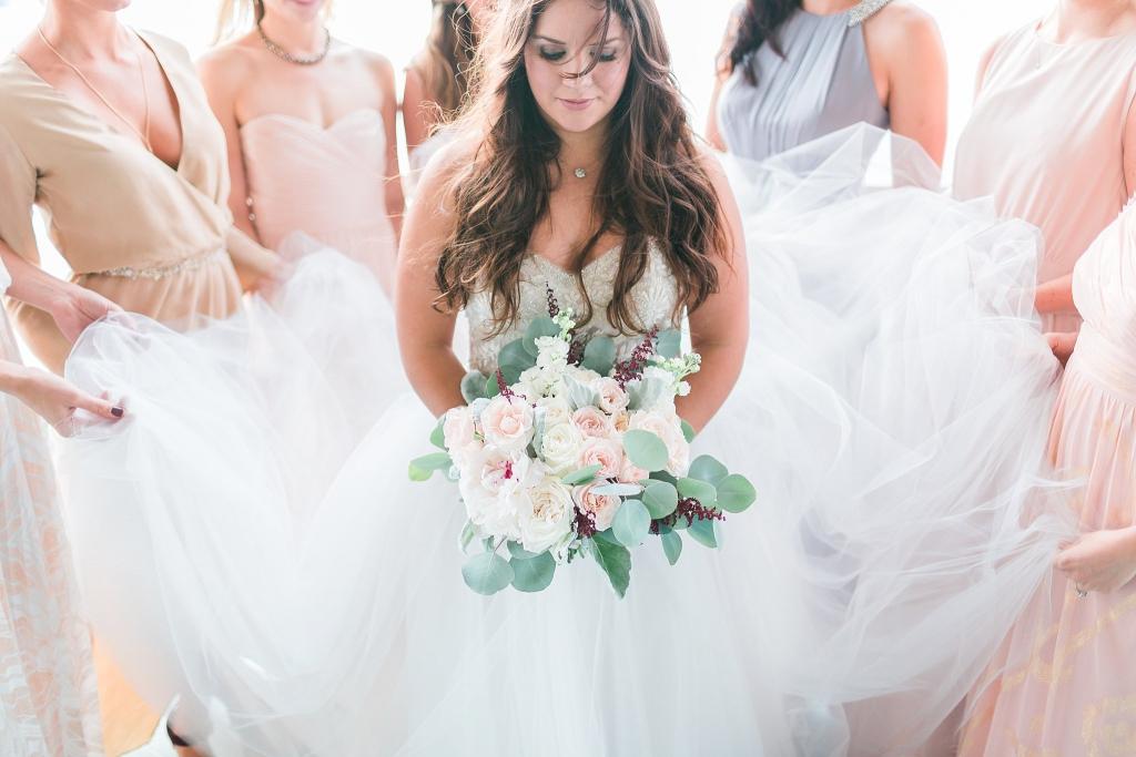 pastel bridesmaids dresses oasis austin