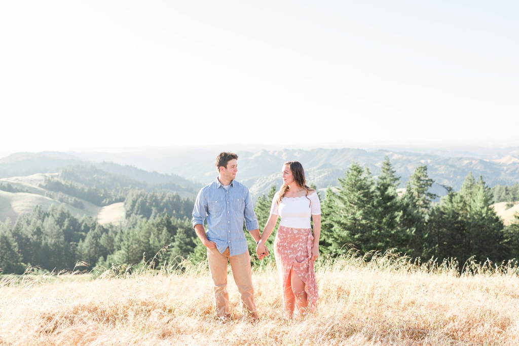 mount tam san francisco engagement photos 4