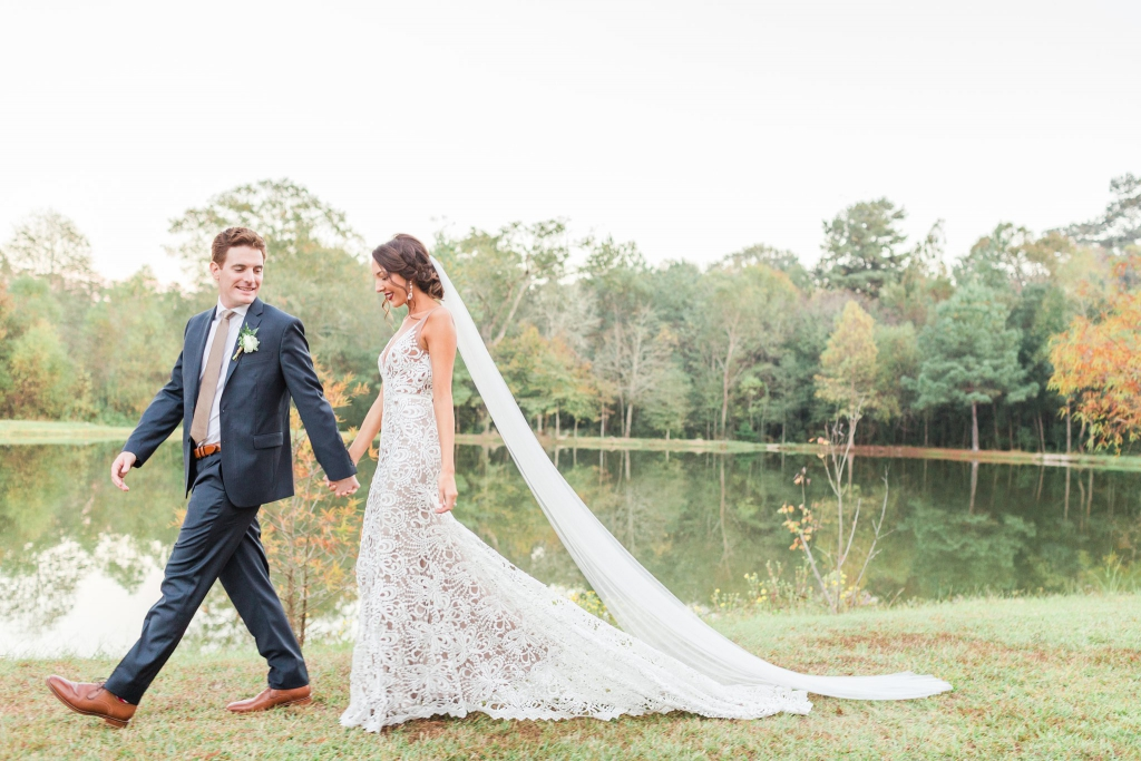 cedar post barn louisiana wedding 40