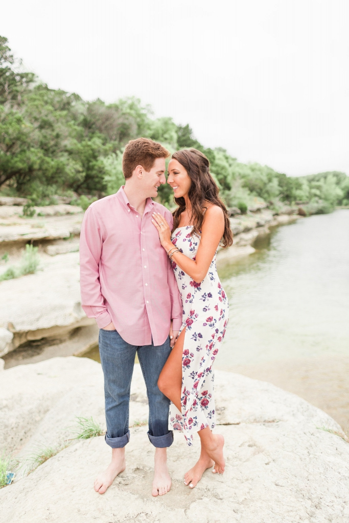 bull creek austin engagement photos 11