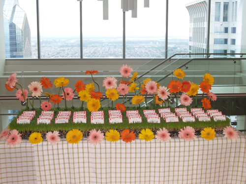 Escort Card Tables