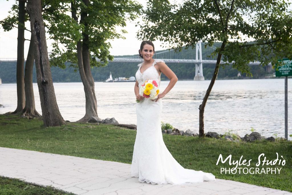 Bridal Portrait – Upper Landing Park Poughkeepsie – Myles Studio Photography