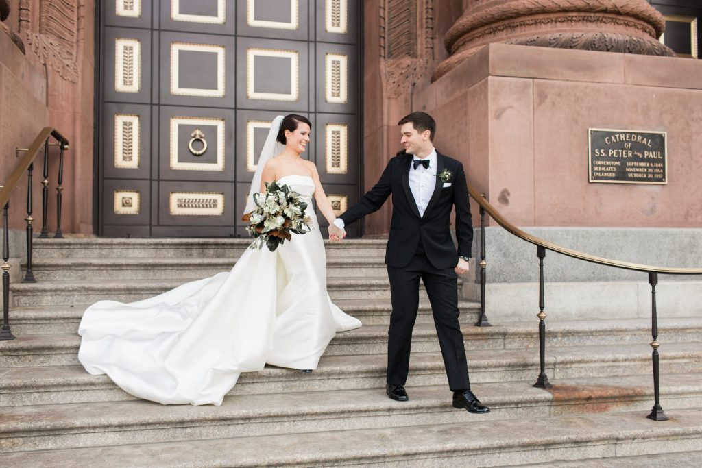 Nan & Dan's Center City Philadelphia Cozy Winter Wedding