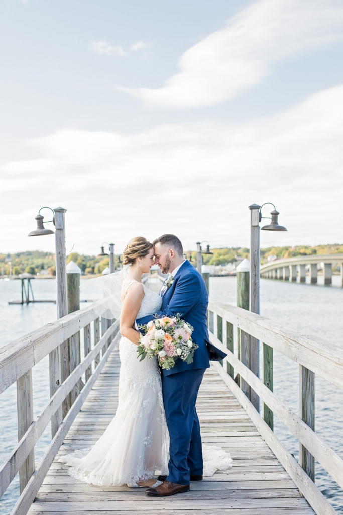Sheepscott Harbour Village Resort Edgecomb ME Wedding