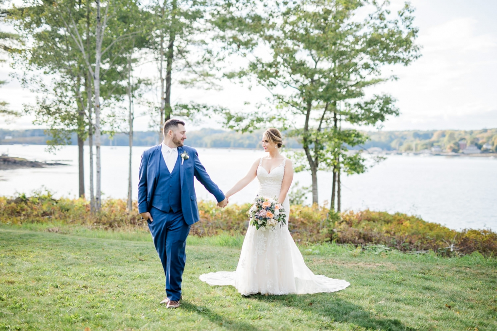 Boothbay Harbor wedding photography
