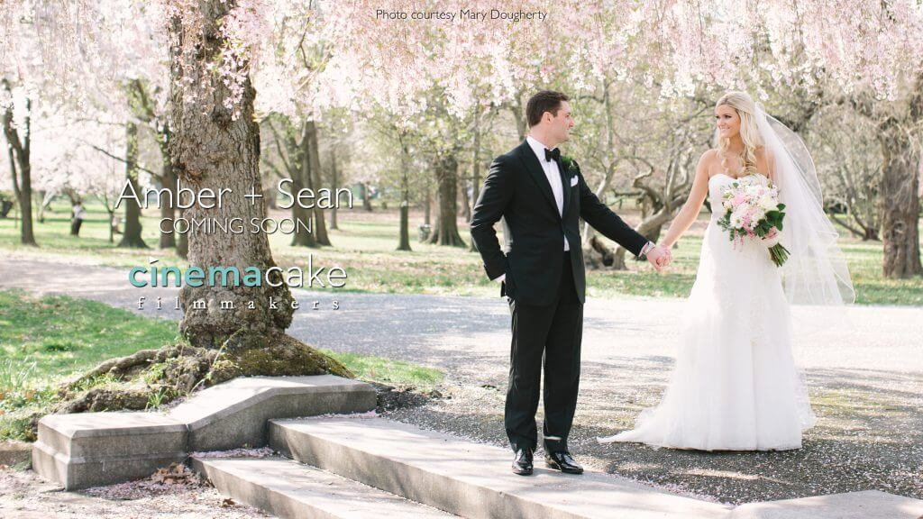 Amber and Sean's Spring Wedding at the Horticulture Center
