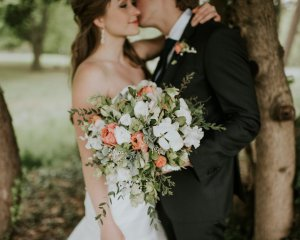 Wedding Day In Bloom