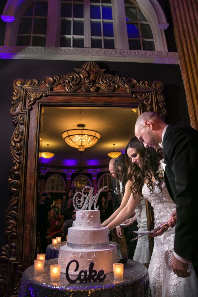 Ballroom at Park Lane Cake Cutting