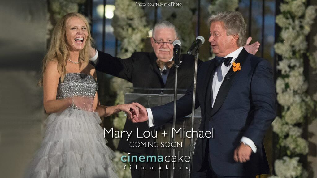 CinemaCake Trailer Mary Lou and Michael's Rittenhouse Hotel Wedding