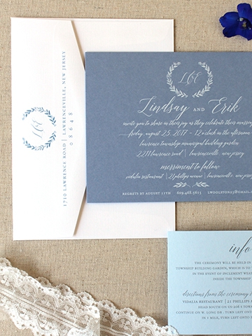 Bespoke Invitation Suites by Fleurish ink