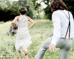 DIY Boho Awbury Arboretum Wedding