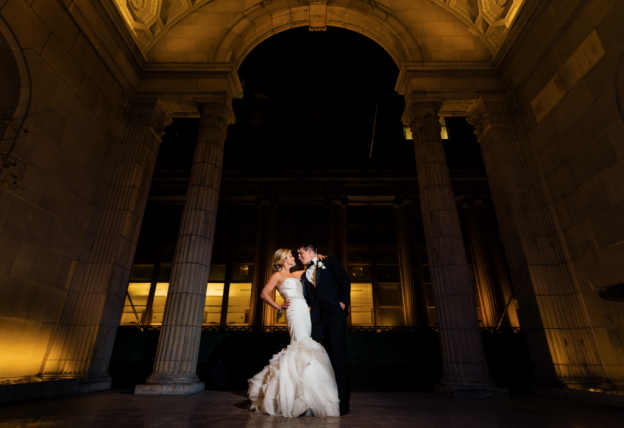 Chris + Chrissy at Ballroom at the Ben | Flutter Social