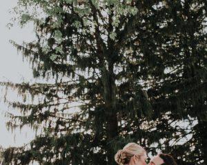 Lauren and Aaron's spring outdoor Country Club Wedding