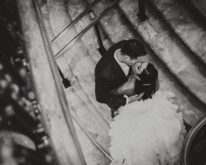 Hotel DuPont Wedding – Gibralter Garden portraits