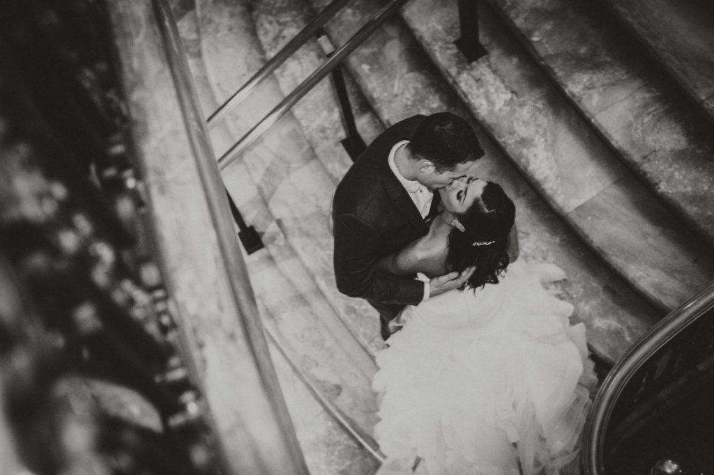 Hotel DuPont Wedding - Gibralter Garden portraits | Flutter Social