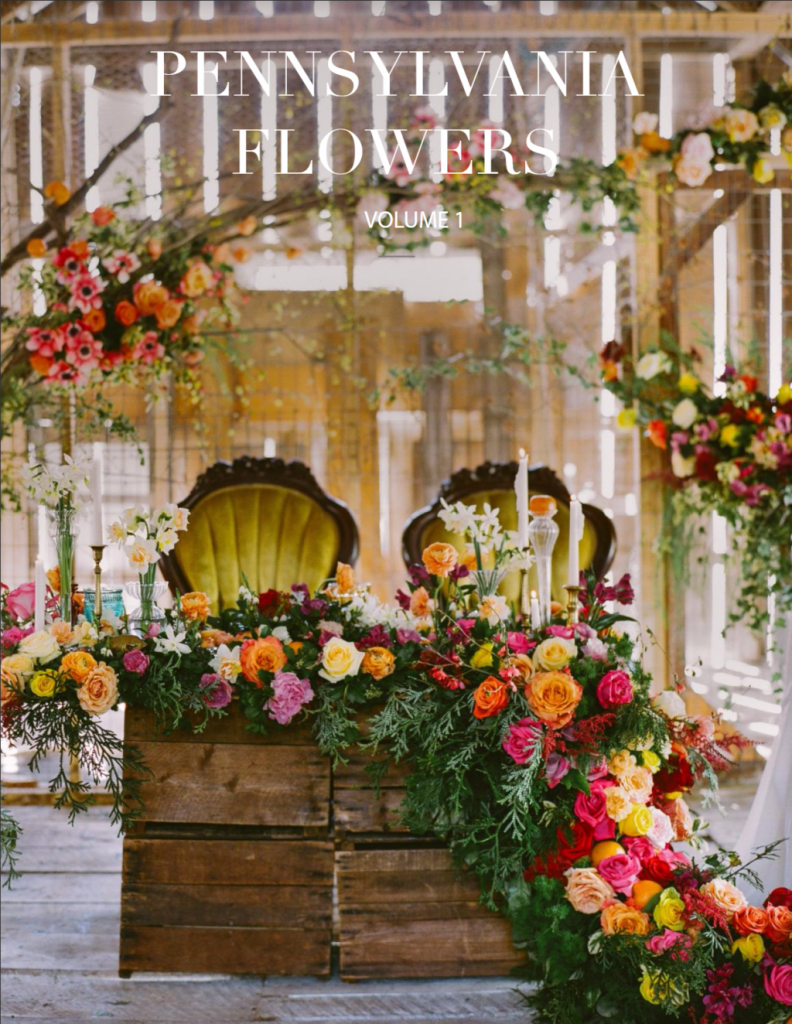 Cover of Pennsylvania Flowers Magazine Issue 1