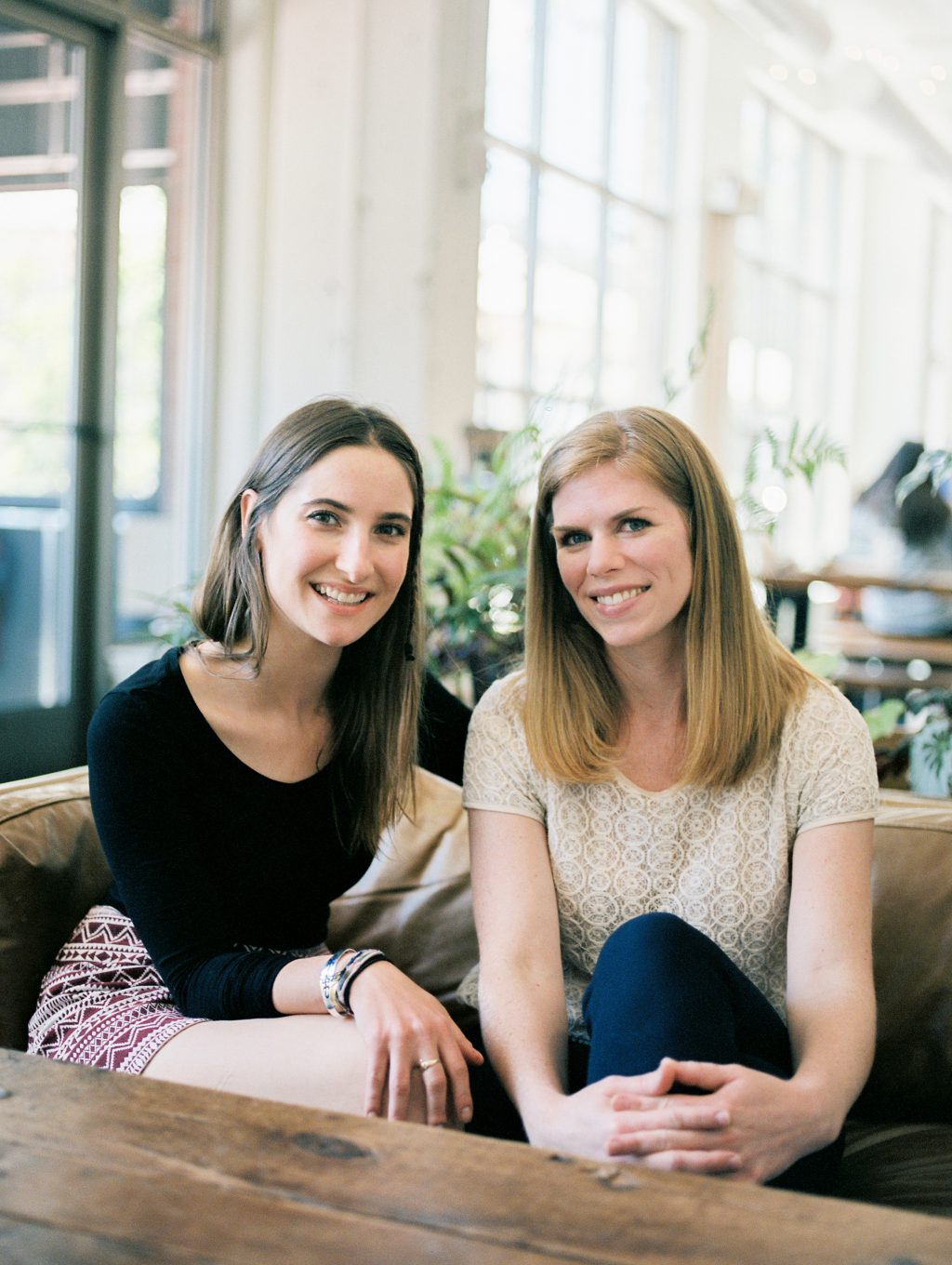 Kaleigh Gallagher + Marcie Reilly, Flutter Social Co-founders